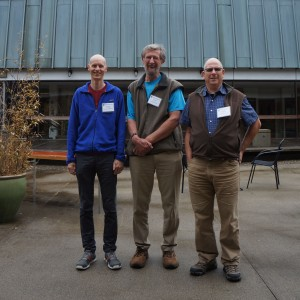 Scott Webster, Dave King and Alex Wallace were all honoured for their long-time service to the FMCBC.