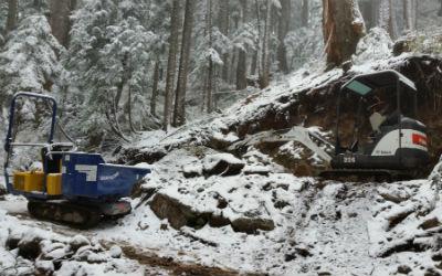 Howe Sound Crest Trail crew