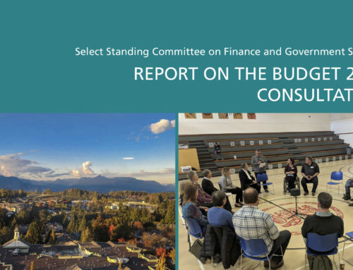 An update on the Budget 2019 Consultation Report