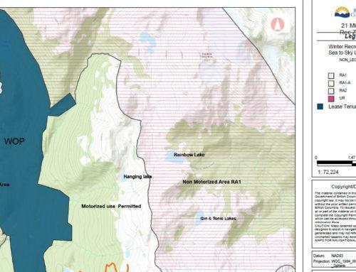 21 Mile Creek motorized use monitoring