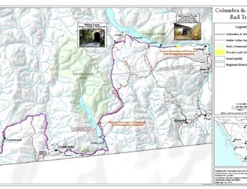 Public Owned Recreational Trail at Risk