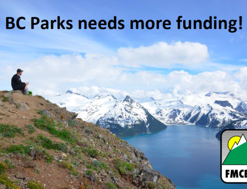 BC Parks Needs More Funding