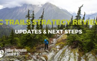 Provincial Trail Strategy Review Webinar
