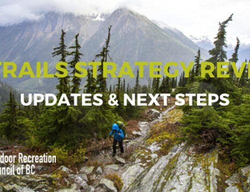 You're invited: Provincial Trails Strategy Webinar