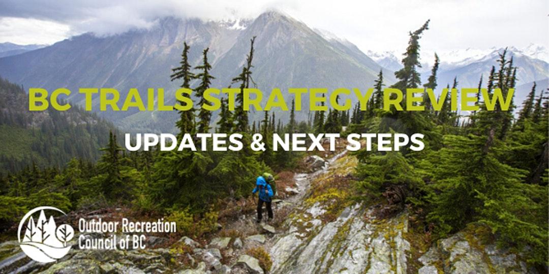 Provincial Trail Strategy Review Webinar