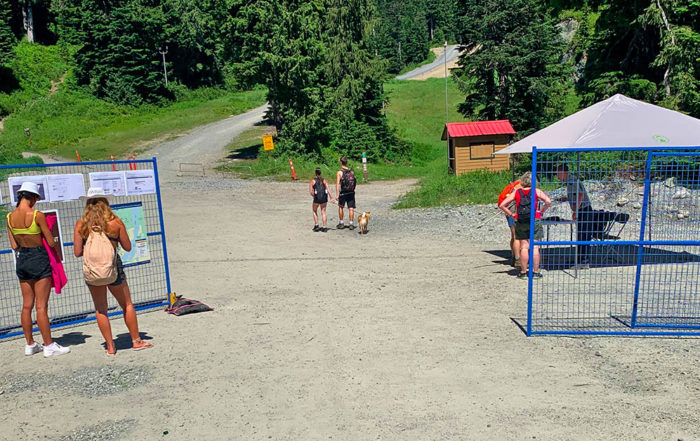 Gates at a provincial park with the new day passes (submitted by Jay MacArthur)